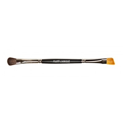 Duo Angle/Fluff Makeup Brush
