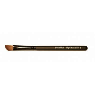 Vegan Angled Fluff Makeup Brush